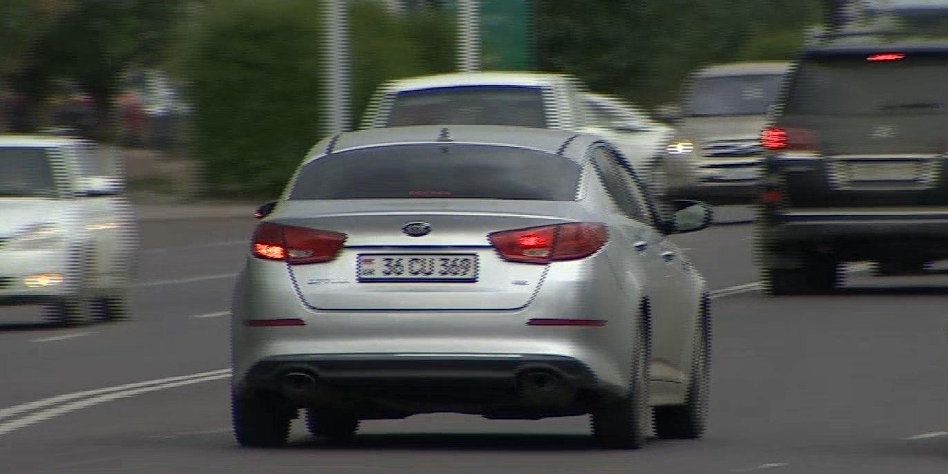 Свыше 2 тысяч авто с армянскими номерами за неделю вывезли из Казахстана